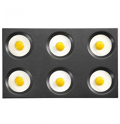 240 uova all'occhio di bue in 2 min